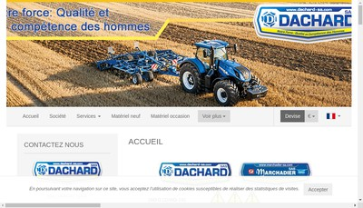 Site internet de Dachard