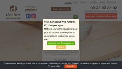 Site internet de Etablissements Dacher