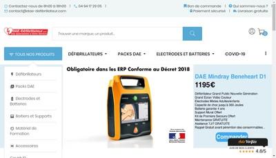 Site internet de France Dae