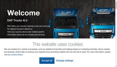 Site internet de Paccar Financial France SAS