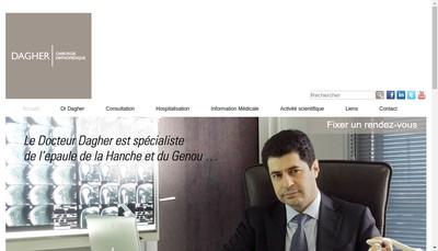 Site internet de Docteur Elias Dagher