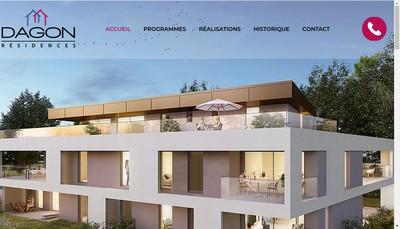 Site internet de Dagon Residences