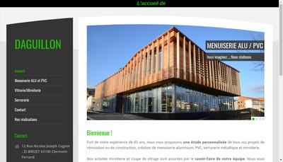 Site internet de Miroiterie Daguillon