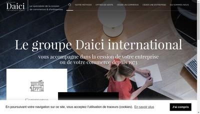 Site internet de Daici