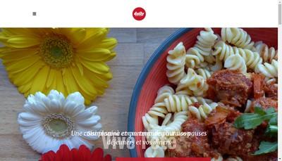Site internet de Daily Happy Food