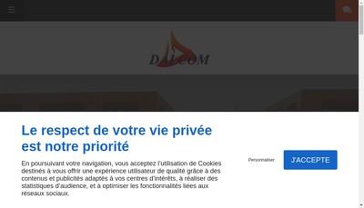 Site internet de Dalcom