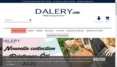 Site internet de Dalery