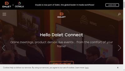 Site internet de Dalet SA