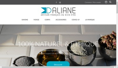 Site internet de Laboratoire Daliane
