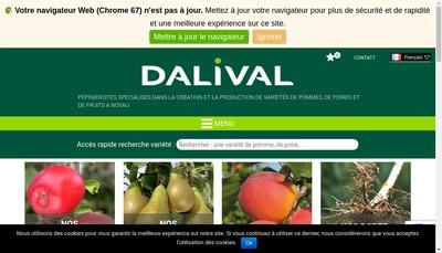 Site internet de Dalival