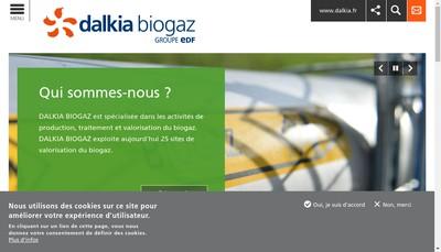 Site internet de Biogaz Auch