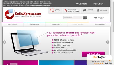 Site internet de Dallexpress