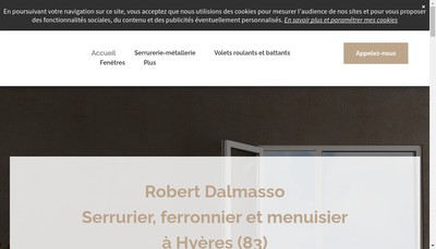 Site internet de Dalmasso Robert