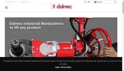 Site internet de Dalmec France
