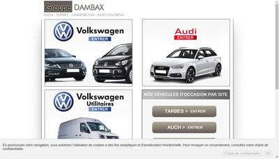 Site internet de Garage Dambax et Fils