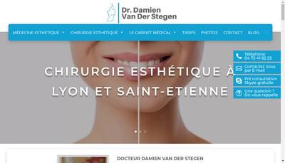 Site internet de Cabinet Damien Van Der Stegen