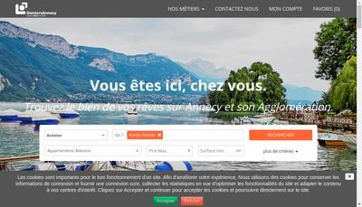 Site internet de Damiers Annecy