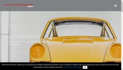 Site internet de Damy Carrosserie