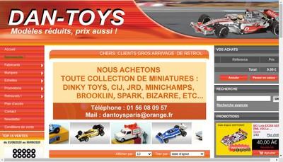 Site internet de Neuf en Boite - Auto Collection
