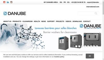 Site internet de Danube International