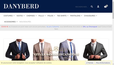 Site internet de Danyberd