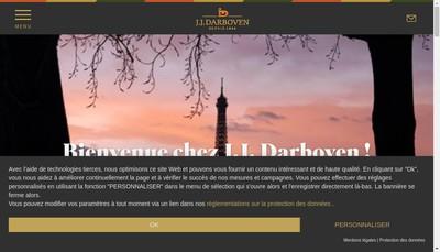 Site internet de Cafes Warca Cafes Brosio