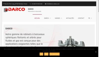 Site internet de SARL Darco