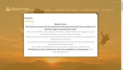 Site internet de Darentasia