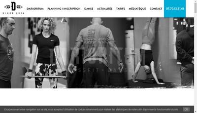 Site internet de Darioritum Crossfit et Danse