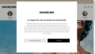 Site internet de Darjeeling