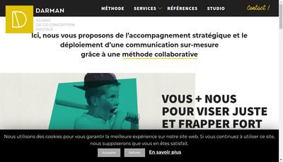 Site internet de Studio Darman