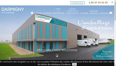 Site internet de Darmigny Emballage