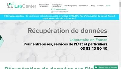 Site internet de Data Labcenter Expertises