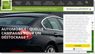 Site internet de Data Company