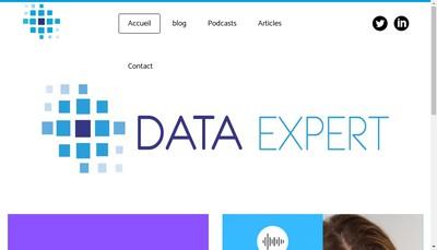 Site internet de Data Expert