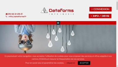 Site internet de Dataforms