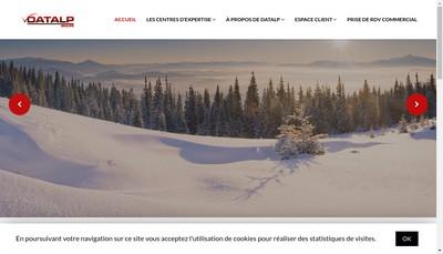 Site internet de Datalp