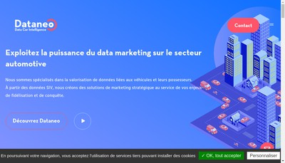 Site internet de Dataneo
