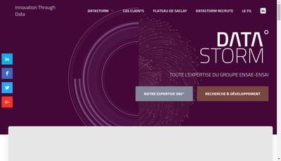 Site internet de Datastorm