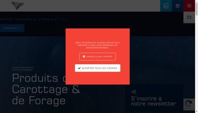 Site internet de Datc Europe