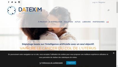 Site internet de Datexim