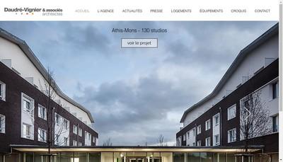 Site internet de Daudre-Vignier & Associes