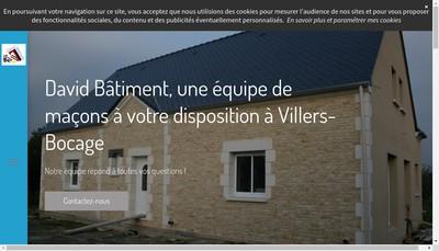 Site internet de David Batiment
