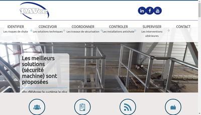 Site internet de Dav Oc