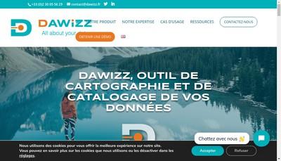 Site internet de Dawizz