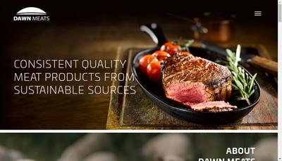 Site internet de Dawn Meats France