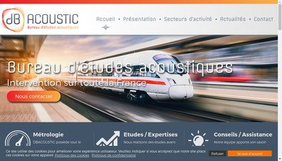 Site internet de Dbacoustic