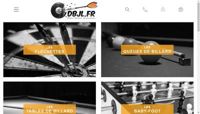 Site internet de Dbjl Calais