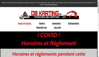 Site internet de Db Karting