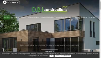 Site internet de Dbl Constructions